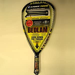 Click here to buy E-Force Bedlam 185 Racquetball Racquet by E-Force.