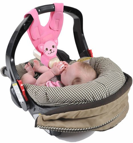 Baby Bottle Holder for Hands Free Bottle Feeding by Bebe Bottle Sling, LLC - 1