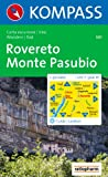 Rovereto, Monte Pasubio: Carta escursioni / bike. Wandern / Rad. 1:50.000