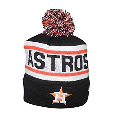Adult MLB - HOUSTON ASTROS Winter Hat / Beanie with Removable Pom Pom