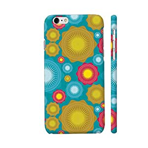 Colorpur Geometric Star Shapes Colorful Pattern Artwork On Apple iPhone 6 / 6s Cover (Designer Mobile Back Case) | Artist: Designer Chennai