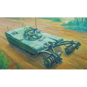 Trumpeter 1/35 U.S. M1 Panther II Mineclearing Tank - 346