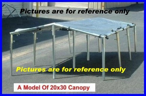 20 X 30 Canopy Tent Kit for Cars Truck Boat Swimming
