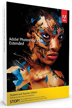 Adobe Photoshop Extended CS6, Student and Teacher Version (PC)