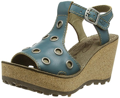 Fly LondonGOFF643FLY - Sandali donna , Turchese (Turchese (Turquoise)), 36