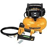 BOSTITCH U/BTFP1KIT 1-Tool and Compressor Combo Kit (Certfieid Refurbished)