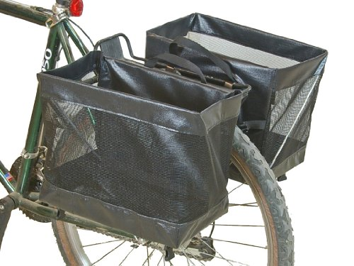 Bushwhacker Omaha - Folding Grocery Panniers Pair