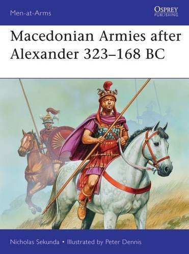 Macedonian Armies after Alexander 323-168 BC (Men-at-Arms)