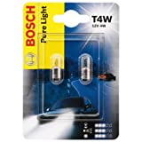 Bosch 1987301023, Car Light Bulb, T4W Pure Light, Parking Light, Indicator Light