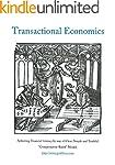 Transactional Economics: Achieving Fi...