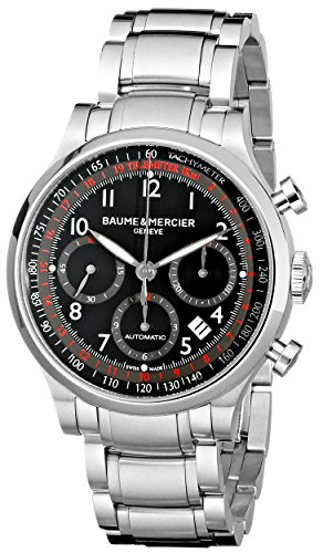 baume-et-mercier-capeland-moa10062-gents-steel-bracelet-automatic-date-watch