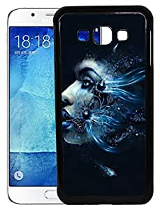 XUWAP 2D Printed Designer Hard Back Cover For Samsung Galaxy A8 Design-10043