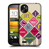Head Case Designs Simple Teachings of Confucius Protective Snap-on Hard Back Case Cover for HTC Desire X