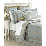 Nice Waterford Hannah King Comforter Set Ice Blue