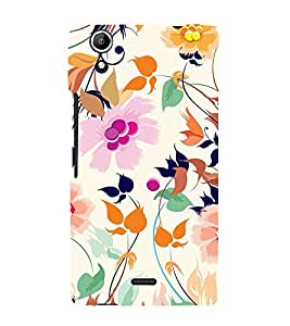Beautiful Pattern 3D Hard Polycarbonate Designer Back Case Cover for Micromax Canvas Selfie 2 Q340