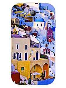 Wanderlust - Travel - Greece - Hard Back Case Cover for Samsung Grand Duos - Superior Matte Finish - HD Printed Cases and Covers