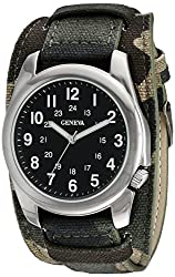 Geneva Mens FMDJM524 Analog Display Quartz Multi-Color Watch