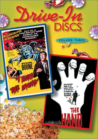 Cover art for  Drive-In Discs, Vol. 3: I Bury the Living/The Hand