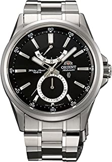 buy Orient #Ffm01002B Men'S Conductor Stainless Steel Date Sub Dial Power Reserve Automatic Watch