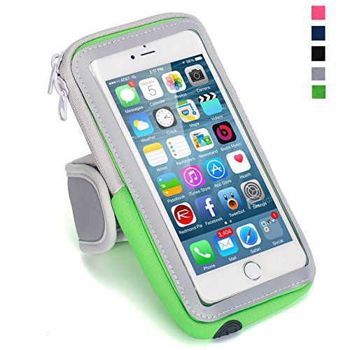 Yomole Multifunctional Outdoor Sports Armband Casual Arm Package Bag Cell Phone Bag Key Holder For iphone 6 6s Plus 5s 5c se Samsung Galaxy Note 5 4 3 Note Edge S4 S5 S6 S7 Edge Plus LG G3 G4 G5 (Package Band compare prices)