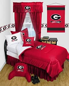 Georgia Bulldogs NCAA Locker Room Complete Bedroom Package by Sports Coverage