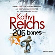 206 Bones Audiobook by Kathy Reichs Narrated by Lorelei King