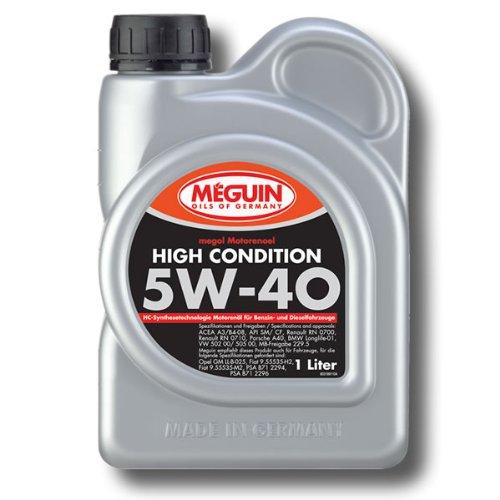 Motoröl Megol 5W-40 High Condition 1 Liter Meguin