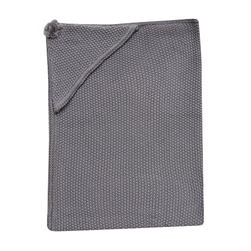 Lambs & Ivy Signature Knit Hooded Blanket, Gray (Popcorn The Lamb compare prices)