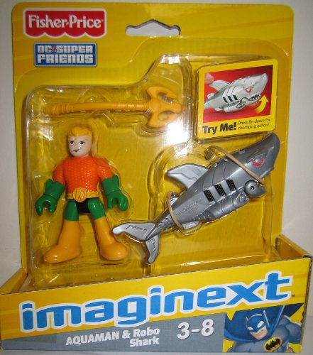 Shark Toys At Walmart : Fisher price imaginext dc super friends figures aquaman