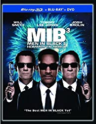 Men in Black 3 3D / Hommes En Noir 3 3D (Bilingual) [Blu-ray 3D + Blu-ray + DVD]