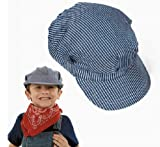 Childs Cotton Train Conductor Hats (1 dz)