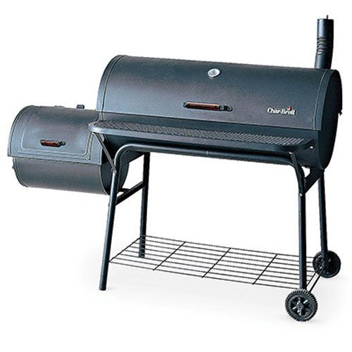 Char-Broil American Gourmet Offset Smoker, Deluxe (Charbroil Side Smoker compare prices)