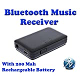 Gadget Hero's Bluetooth 3.5mm Audio Music Receiver Adapter A2DP For Phone Tablets Computer