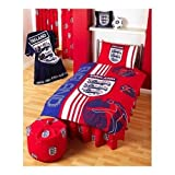 Matching Bedrooms England Red Scoreboard Single Duvet Setby Matching Bedroom Sets