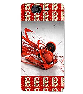 PrintDhaba Music D-4630 Back Case Cover for MICROMAX A350 CANVAS KNIGHT (Multi-Coloured)