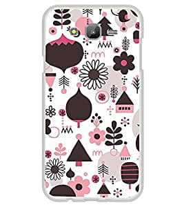 Multi Colour Flower Pattern 2D Hard Polycarbonate Designer Back Case Cover for Samsung Galaxy E7 (2015) :: Samsung Galaxy E7 Duos :: Samsung Galaxy E7 E7000 E7009 E700F E700F/DS E700H E700H/DD E700H/DS E700M E700M/DS