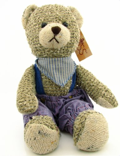 Russ Berrie Bears Of The Past Harrison Knit Teddy