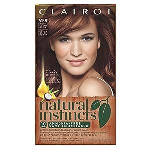 clairol natural instincts 20rb bright auburn