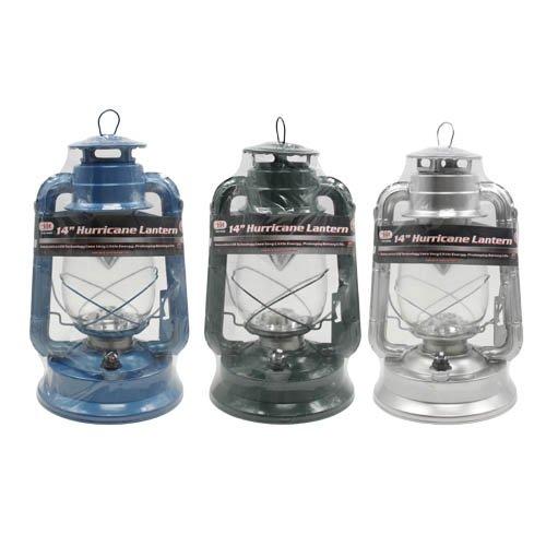 "6 Pack Wholesale Lot 14"" 21 Led Hurricane Lamp Lantern Glass"