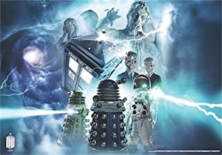 Doctor Who Wallpaper Mural - Dynamic 3 (Fixed Size)