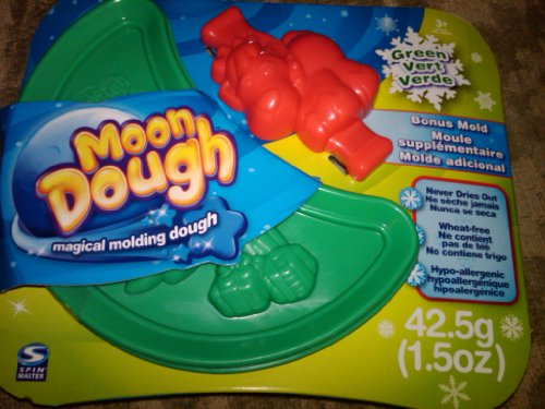 Moon Dough Christmas Tree Green with Bonus Reindeer Mold 1.5 oz at Sears.com