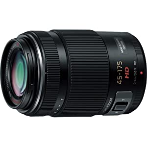 Panasonic Lumix G X Vario PZ 45-175mm/F4.0-5.6 Lens for Panasonic Lumix G-Series Digital Cameras