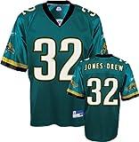 Maurice Jones-Drew Jersey: Reebok Teal Replica #32 Jacksonville Jaguars Jersey - Large