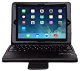 51E5zbIvfDL. SL160  Totally Tablet Apple iPad Air Portfolio Case with Removable Bluetooth 3. 0 Keyboard Case