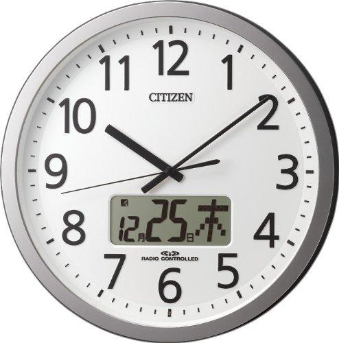 CITIZEN プログラムチャイム付き電波時計 プログラムカレンダー405 4FN405-019 4FN405-019