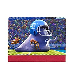 Generic Print Monsters University Shock Proof For Ipad 2/3/4 Stand Case Cover Boy