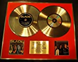 SLADE/DOUBLE CD GOLD DISC & PHOTO DISPLAY/LTD. EDITION/COA/FEEL THE NOIZE & COLLECTION 81 - 87