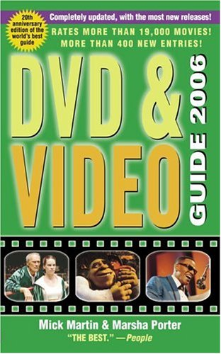Image for DVD & Video Guide 2006 (Mass Market Paperback) (DVD & Video Guide (Quality Paper))