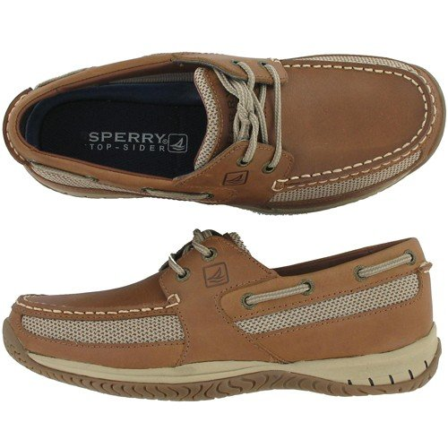 Sperry KEEL 2-EYE 0297069 Dark Tan 9.5 Medium