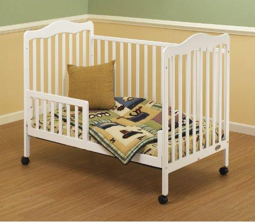 Orbelle Trading Toddler Guard Rail for Emma Crib, White
